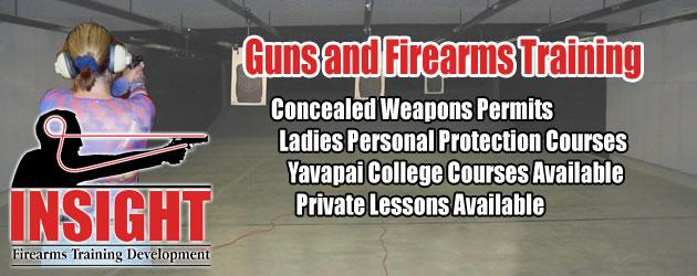 Gun Store, Indoor Shooting Range, and Firearms Training